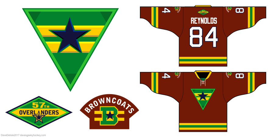 Browncoats 5 jersey design by Dave Delisle