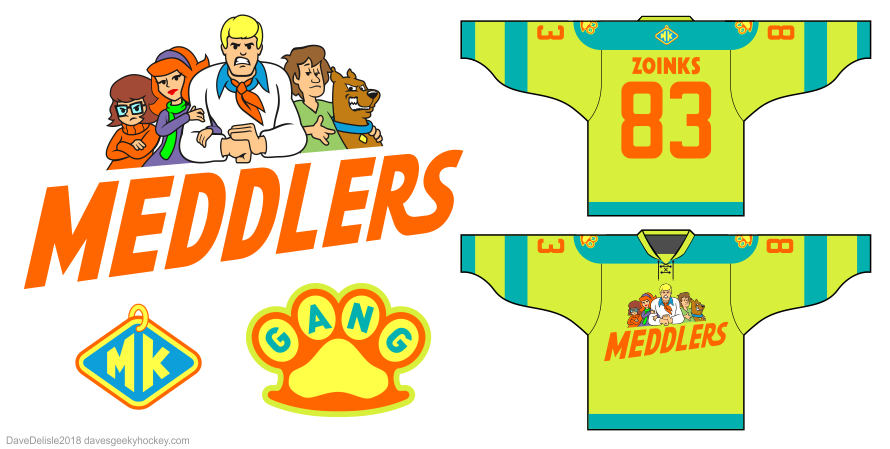 Meddlers hockey jersey by Dave Delisle davesgeekyhockey